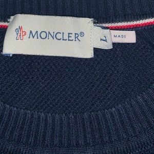 Moncler Sweaters - Monclair Blue sweater